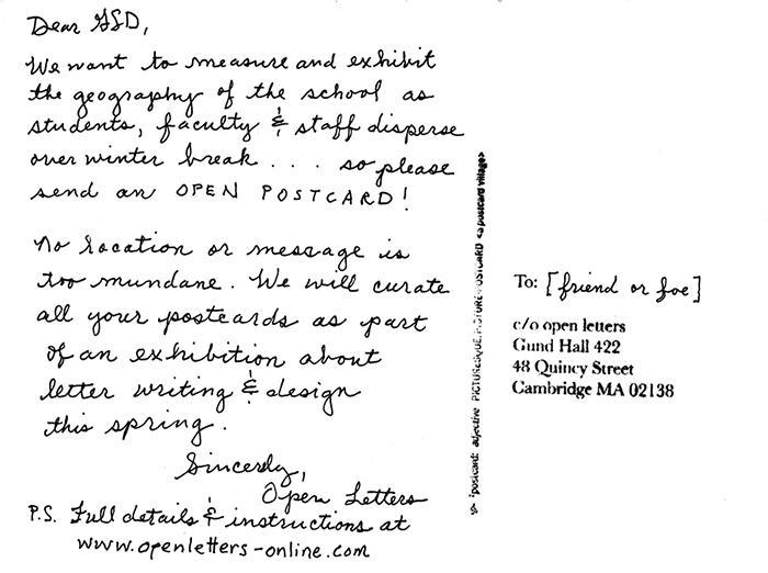 Open postcards open letters altavistaventures Image collections