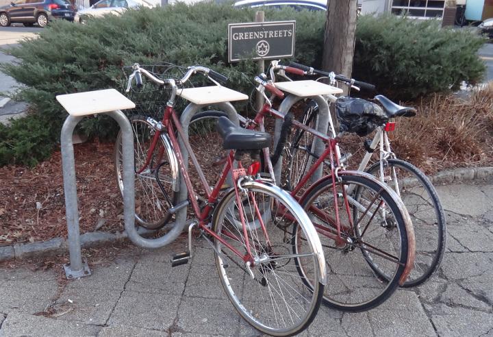 Bike Rack Table Tops Rotten Apple